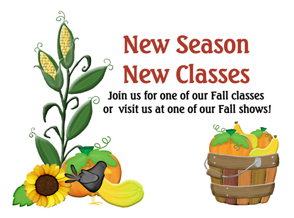 New season, New classes